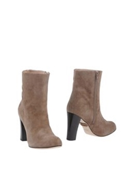 Rose Ankle Boots Khaki