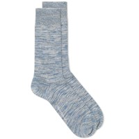 Oliver Spencer Dodd Marl Sock Blue