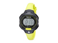 Timex Sport Ironman Green And Black Mid Size 10 Lap Watch Black Lime Watches