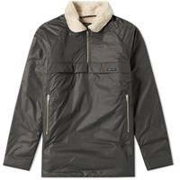 Nigel Cabourn X Peak Performance Quilted Smock Green