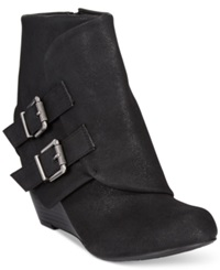 American Rag Cora Foldover Wedge Booties Only At Macy's Women's Shoes