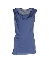 Met And Friends Topwear Tops Women Slate Blue