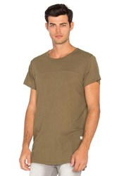 Stampd Chamber Scallop Tee Brown