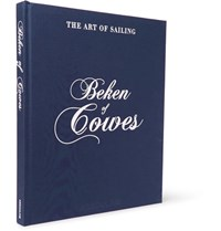 Assouline Beken Of Cowes The Art Of Sailing Hardcover Book Blue