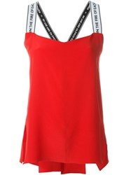 Each X Other Crisscross Back Cami Top Red