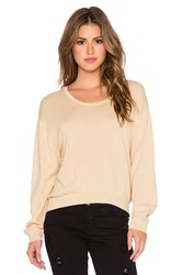 American Vintage Liberty Road Sweatshirt Tan