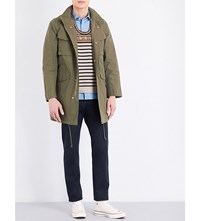 United Arrows M65 Canvas Coat Olive