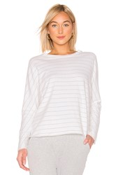 Frank And Eileen Tee Lab Oversized Continuous Sleeve Sweatshirt White