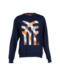Fenchurch Topwear Sweatshirts Men Dark Blue