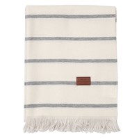 Gant Vega Stripe Throw Grey 130X180cm