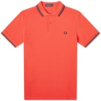Fred Perry Authentic Twin Tipped Polo Pink