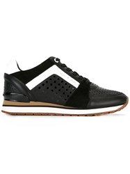 Michael Michael Kors Panelled Sneakers Black