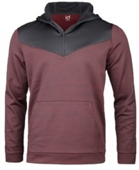 Ideology Id Men's Performance Colorblocked Half Zip Hoodie Created For Macy's Port