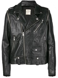 Zadig And Voltaire Fashion Show Traditional Biker Jacket Black