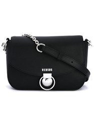 Versus Chain Strap Shoulder Bag Black
