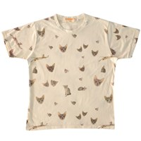 Supersweet X Moumi Reissued Guy Tee Nude Neutrals