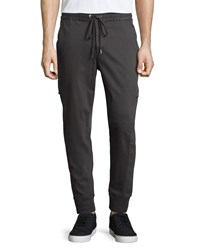 Joe's Jeans Combat Jogger Pants Black Metallic