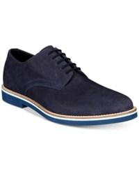 Bar Iii Baxter Buck Lace Ups Created For Macy's Shoes Navy