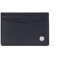 Dunhill Boston Full Grain Leather Cardholder Navy