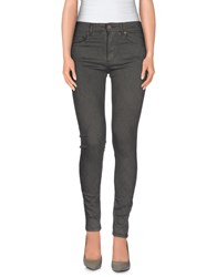 M.Grifoni Denim Trousers Casual Trousers Women Lead