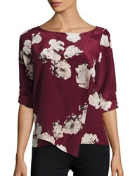 Tracy Reese Blouson Sleeve Floral Top