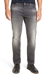French Connection Men's Distressed Slim Fit Jeans
