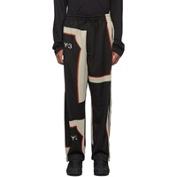 Y 3 Black Colorblock Lounge Pants