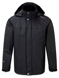 Tog 24 Quasar Milatex Full Zip Windbreaker Black