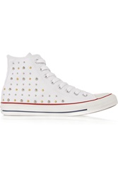 Converse Chuck Taylor Studded Canvas High Top Sneakers