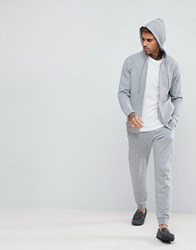 Boss By Hugo Contemporary Joggers With Cuffed Ankle Grey