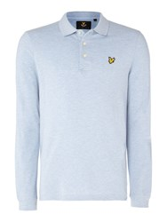 Lyle And Scott Men's Long Sleeve Classic Blue Marl