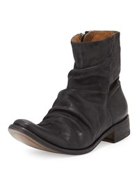 Morrison Sharpei Short Boot John Varvatos Black