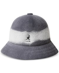 Kangol Men's Artisan Casual Bucket Hat Black White