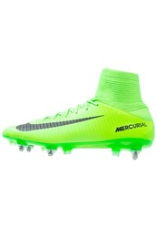 Nike Performance Mercurial Veloce Iii Sgpro Football Boots Electric Green Black Flash Lime White