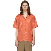 Band Of Outsiders Red Summer Shirt