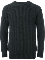 E. Tautz Rrs Crew Neck Jumper Grey