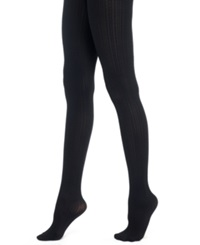 Berkshire Cable Knit Tights Black