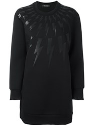 Neil Barrett 'Lightning Bolt' Sweatshirt Black