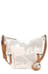 Fossil 'Small Emerson' Print Leather Hobo