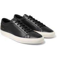 Common Projects Original Achilles Full Grain Leather Sneakers Black