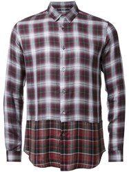 Hl Heddie Lovu Layered Checked Shirt Multicolour