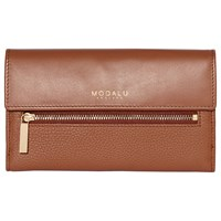 Modalu Erin Leather Continental Wallet Tan