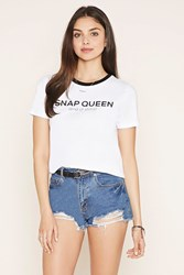 Forever 21 Snap Queen Graphic Tee