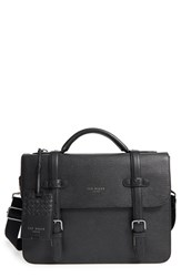 Men's Ted Baker London 'Depalma' Leather Briefcase