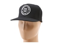 Brixton Oath Iii Black Sp14 Traditional Hats