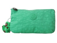 Kipling Creativity Large Pouch Island Green Clutch Handbags