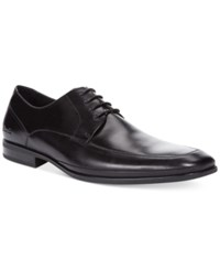 Kenneth Cole Home Run Apron Toe Oxfords Men's Shoes Black