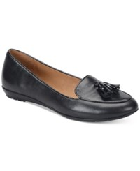 Sofft Bryce Smoking Flats Women's Shoes Black