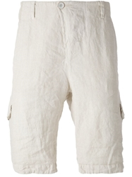Transit Cargo Shorts Nude And Neutrals