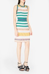 Missoni Women S Sleeveless Shift Dress Boutique1 White